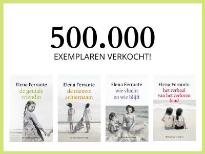 500.000 exemplaren verkocht