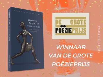 Liesbeth Lagemaat wint Grote Poëzieprijs 2021
